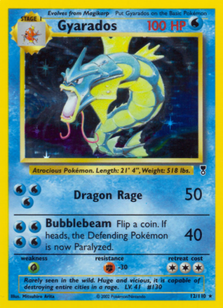 Gyarados 12/110 Other Legendary Collection